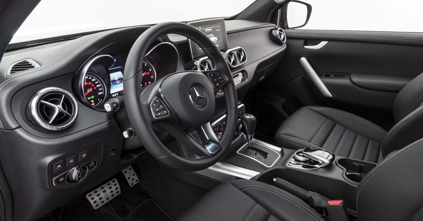 Ателье Brabus размялось на средней версии пикапа Mercedes X-класса