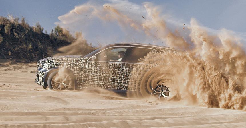 Новый кроссовер BMW X5: первые фирменные изображения