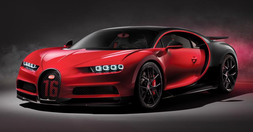 Гиперкар Bugatti Chiron: есть первая сотня