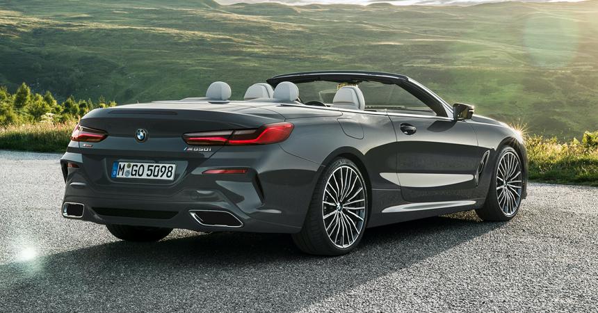 В семействе BMW восьмой серии появился кабриолет