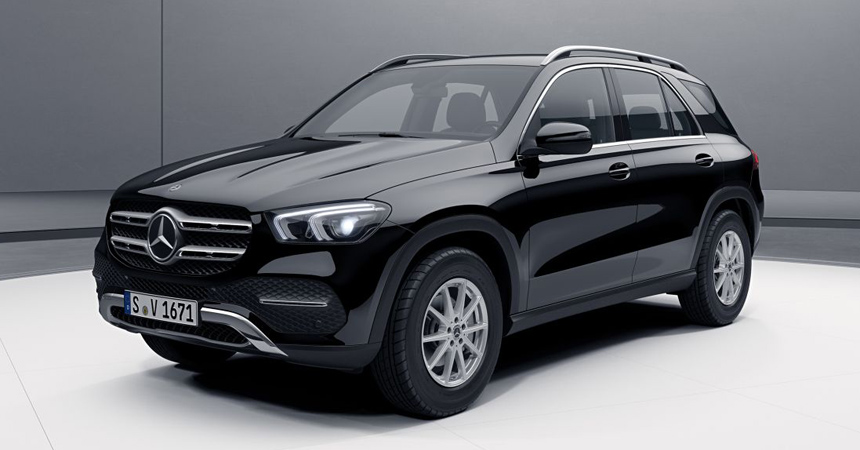 Новый Mercedes GLE: комплектации и цены в России
