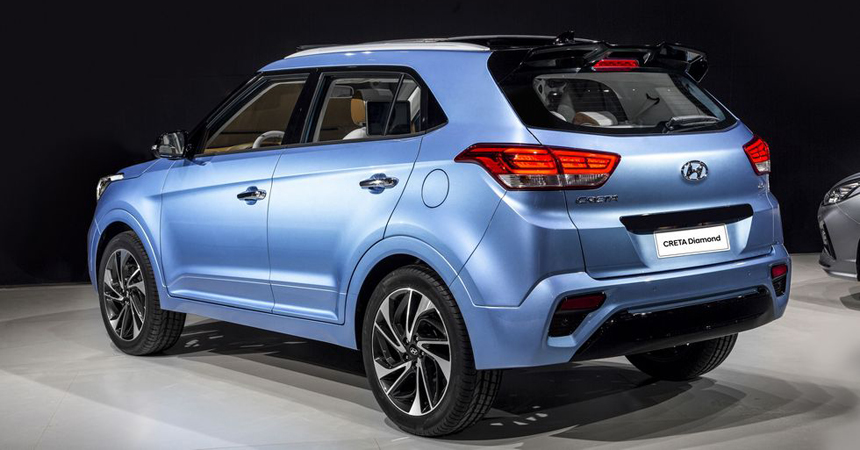 Hyundai Creta Diamond: белая кожа и телевизоры