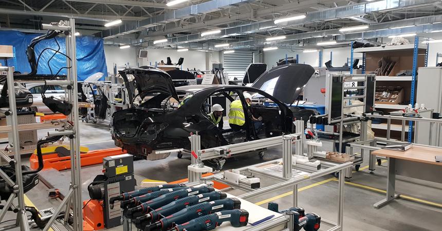 Российский завод Mercedes: началась пусконаладка
