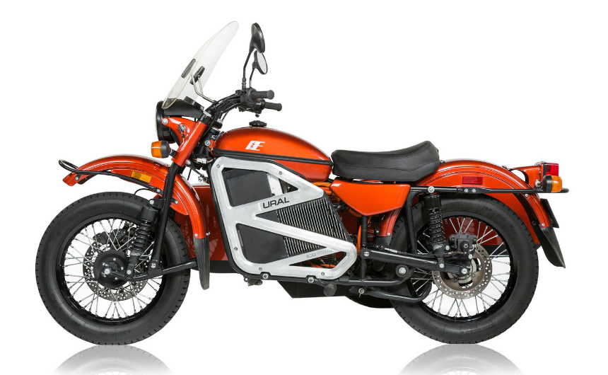 And again Ural - this time electric!
