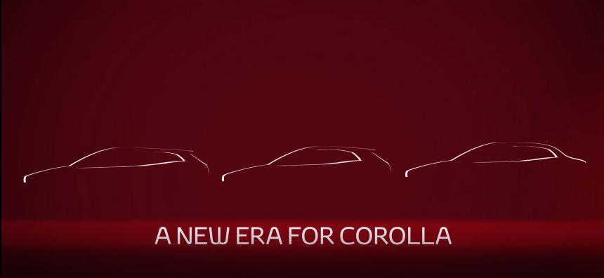 Новые седаны Toyota Corolla и Levin: дебют через неделю