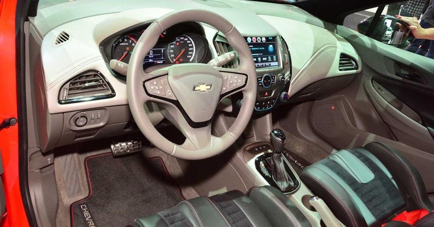 Представлен Chevrolet Cruze Sport6 SS с 300-сильным мотором