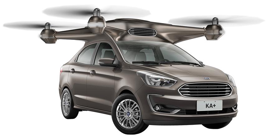 Ford Ka: субмарина, вертолет и танк