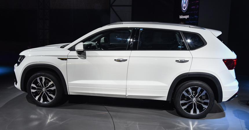У паркетника Volkswagen Tharu появилась версия R-Line