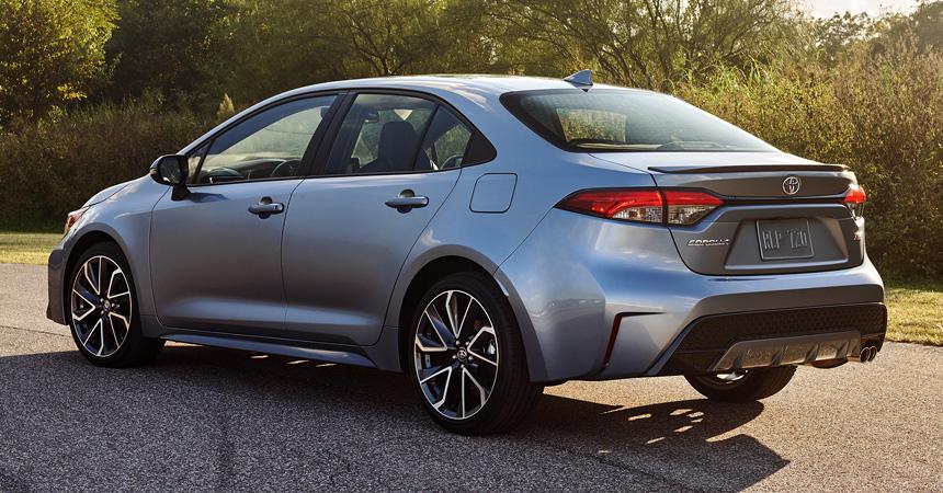 Новый седан Toyota Corolla: скоро в России!