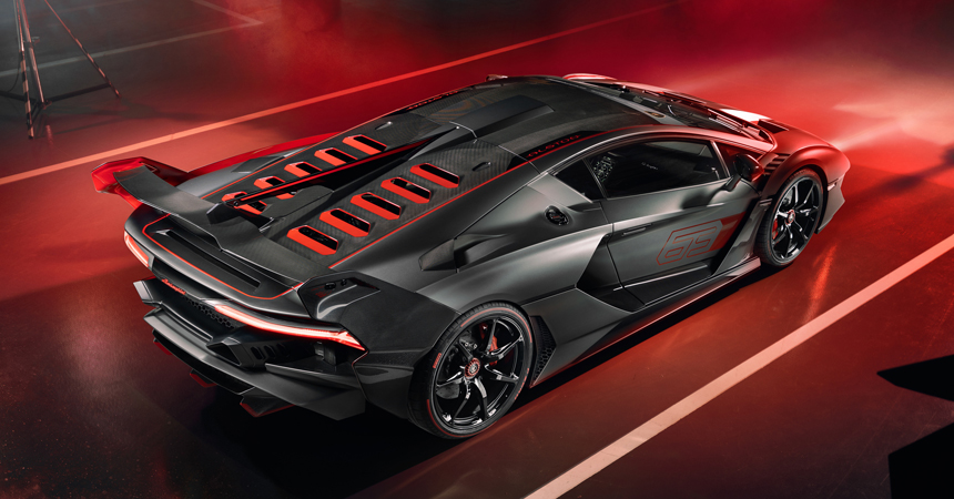 Построено уникальное купе Lamborghini SC18