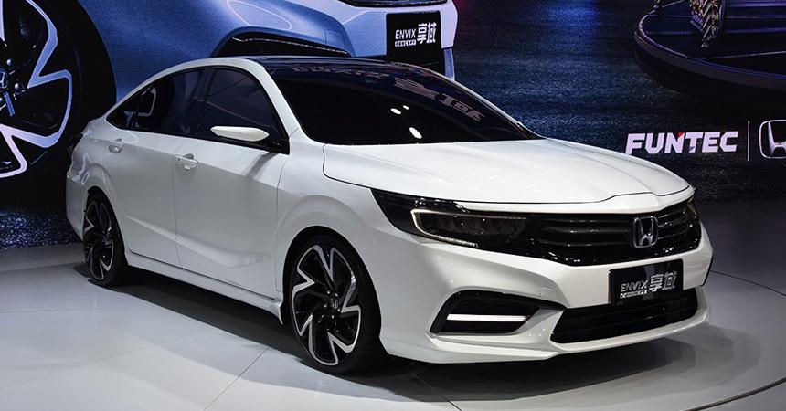 Honda представляет: кроссовер Everus VE-1 и седан Envix