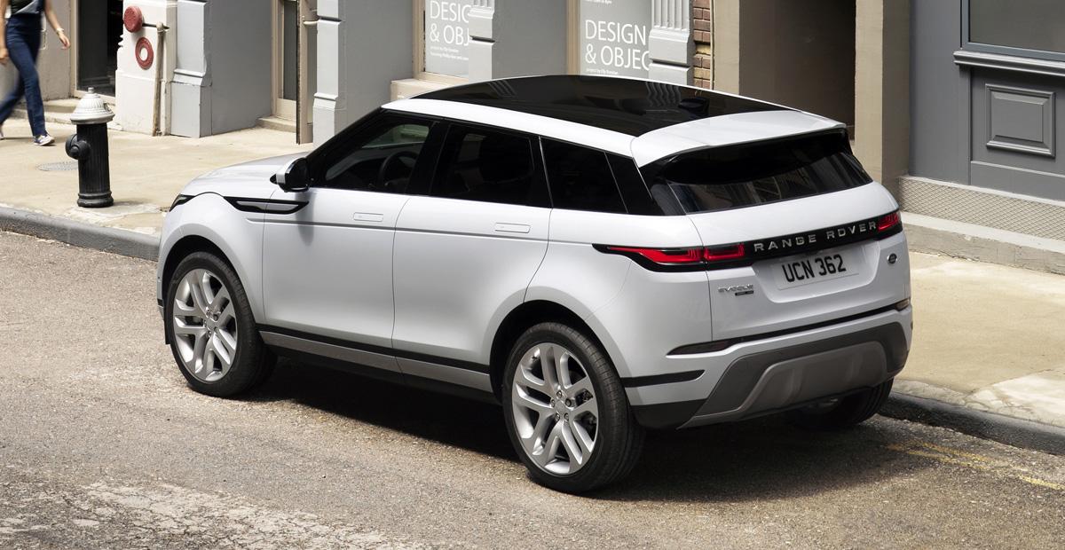 Представлен новый Range Rover Evoque. Мини Velar?