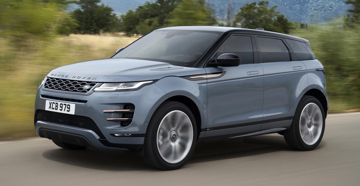 Представлен новый Range Rover Evoque. Мини-Velar?