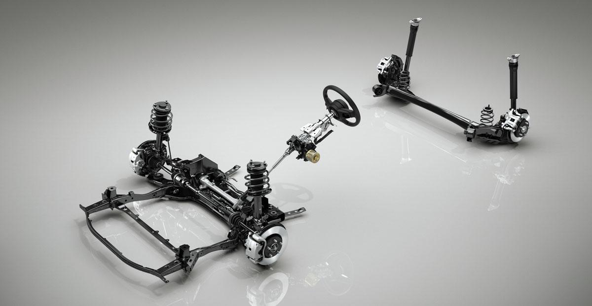 Новая Mazda 3: полный привод и балка сзади