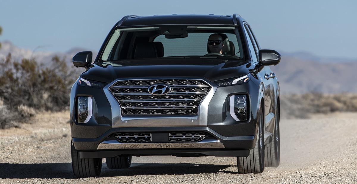 Большой кроссовер Hyundai Palisade полностью рассекречен