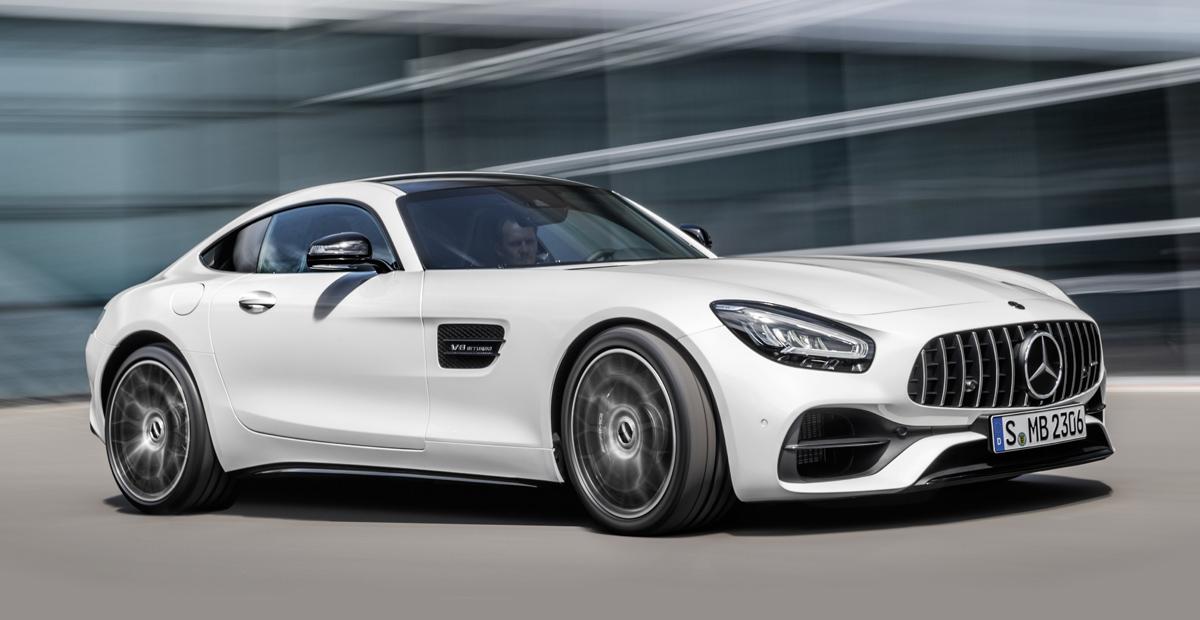 Двухдверный Mercedes-AMG GT: рестайлинг и Pro-версия