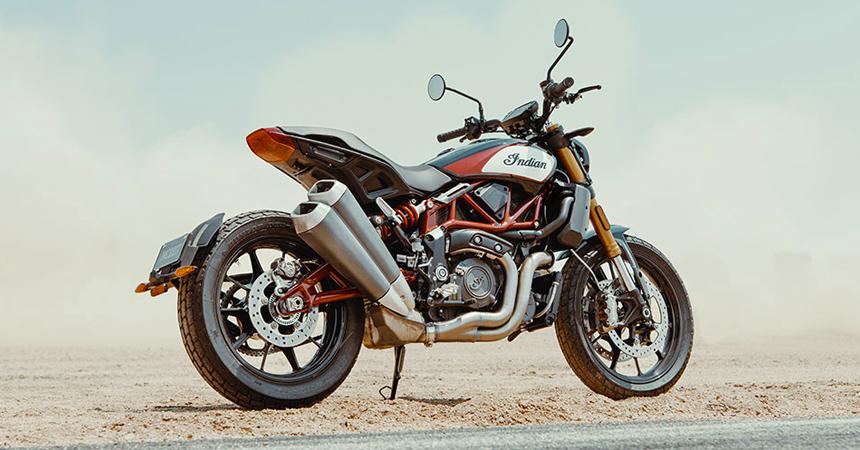 Мотоцикл Indian FTR 1200 дебютировал в Германии