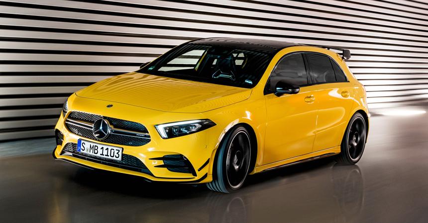 Грядущий Mercedes-AMG A 45 будет иметь режим дрифта