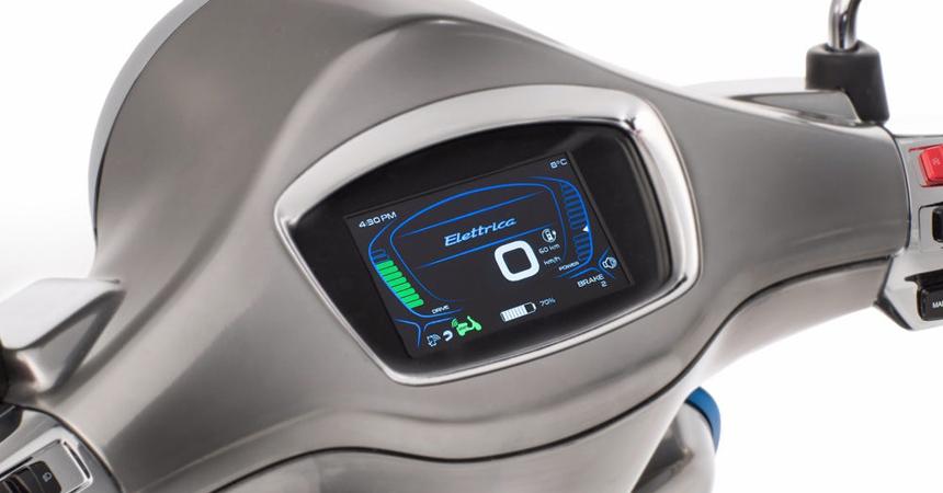 Скутер Vespa Elettrica поступил в онлайн-продажу