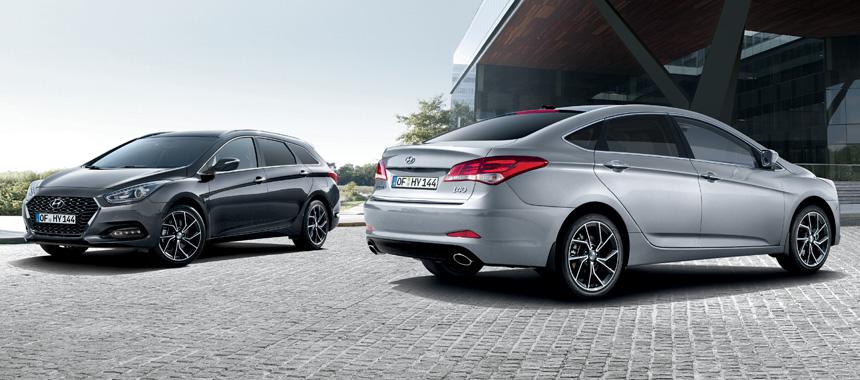 Седан и универсал Hyundai i40: обновление для Европы