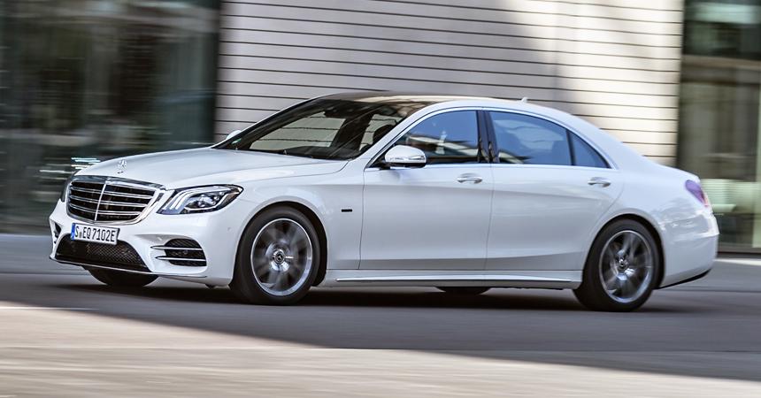 Представлены новые гибриды Mercedes C и E-класса