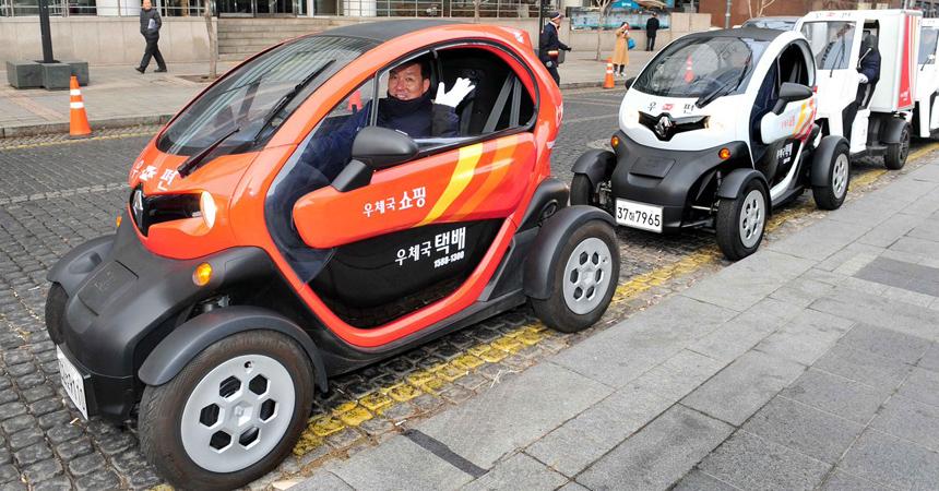 Renault Twizy переезжает в Корею