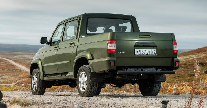 Улучшенный  «УАЗ Пикап» поступил впродажу на российском рынке