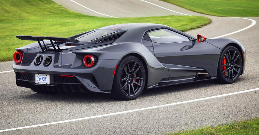 Купе Ford GT Carbon Series: компромисс возможен!