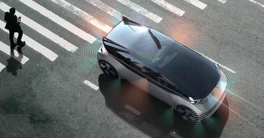 Место для сна, кабинет ижилая комната: представлен беспилотный электромобиль Вольво 360c
