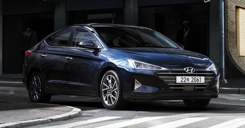 Обновленный седан Hyundai Avante рассказал больше об Элантре