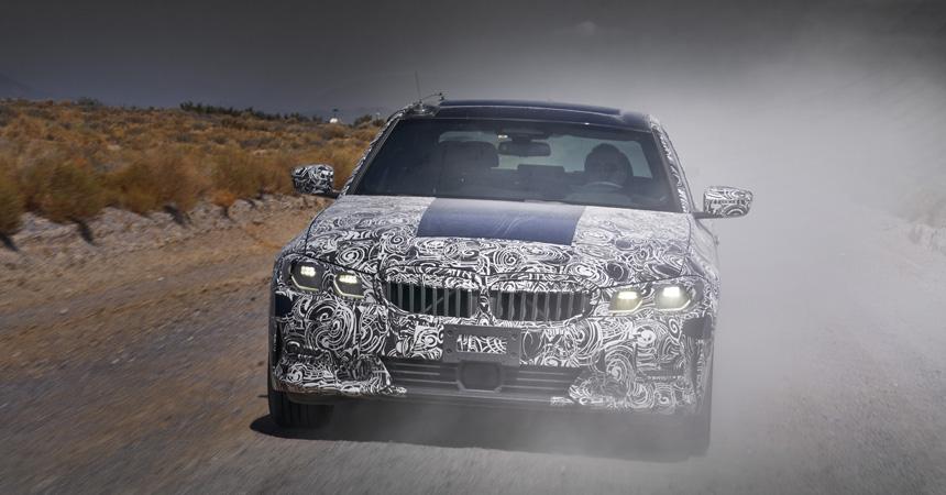 Новая «трешка» BMW уже на финальной стадии испытаний