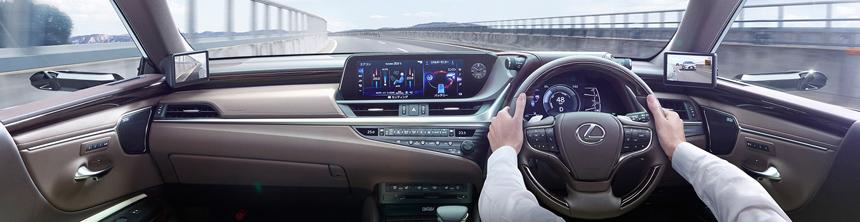 Lexus ES с камерами вместо зеркал: поперед Audi?