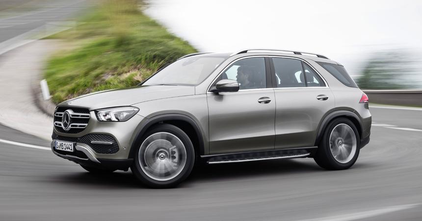 Представлен новый Mercedes GLE: трансмиссия с муфтой и активная подвеска