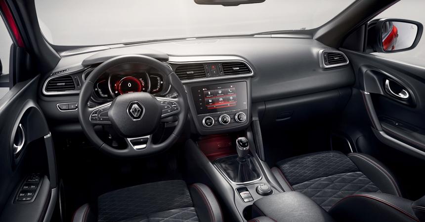 Компания Renault показала фото обновленного кроссовера