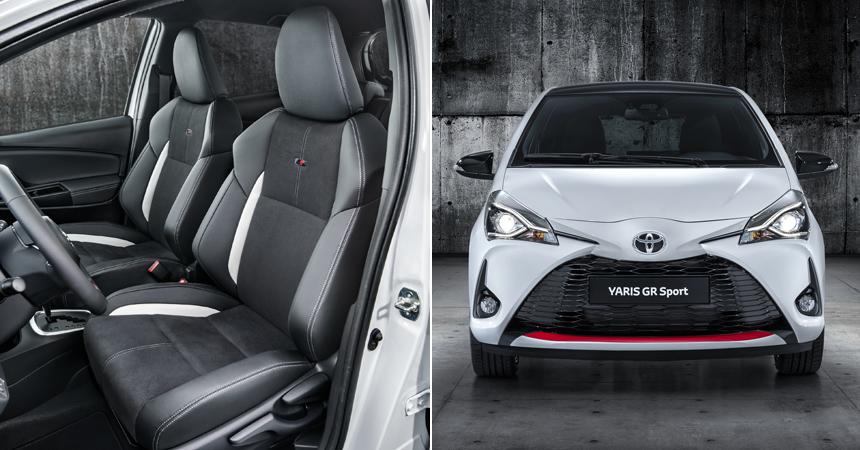 Тоёта представила спортивную модификацию Тойота YarisGR Sport