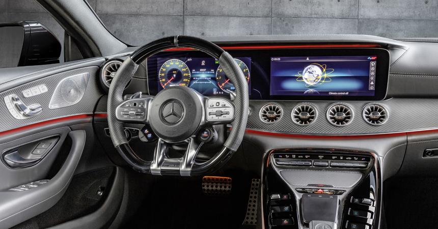 У пятидверки Mercedes-AMG GT появилась базовая версия