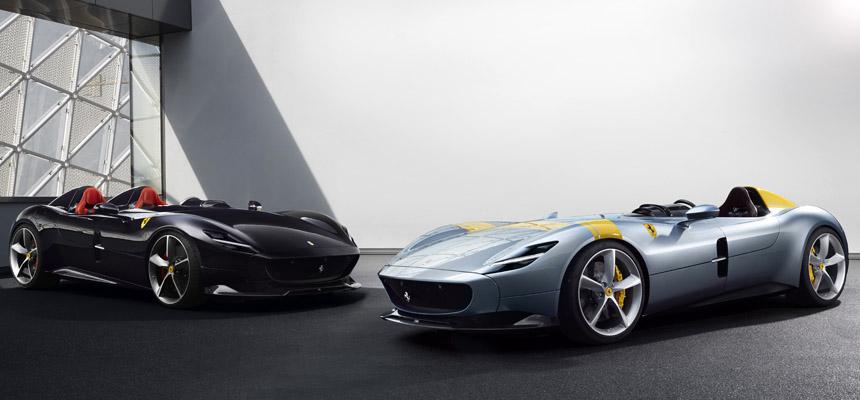 Ferrari Monza: современная икона в стиле пятидесятых