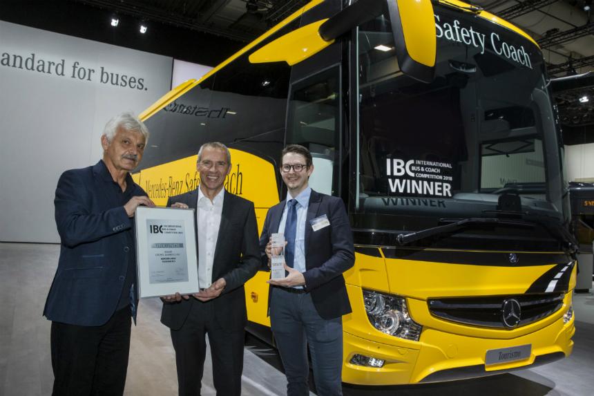Дайджест дня: товарные Volvo S60, автобус года и другие события автоиндустрии