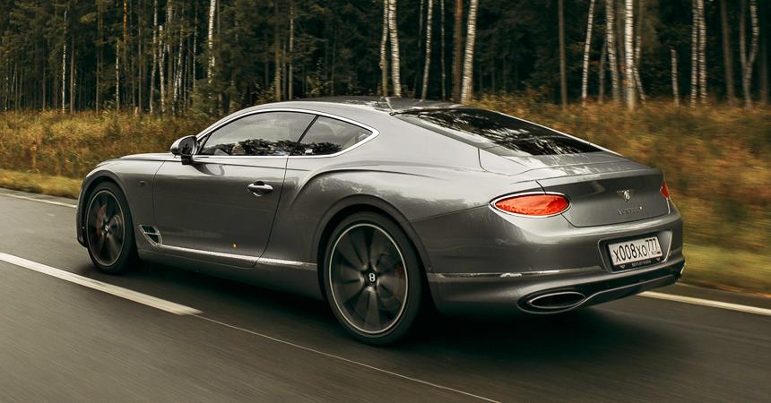 Новое купе Bentley Continental GT добралось до России