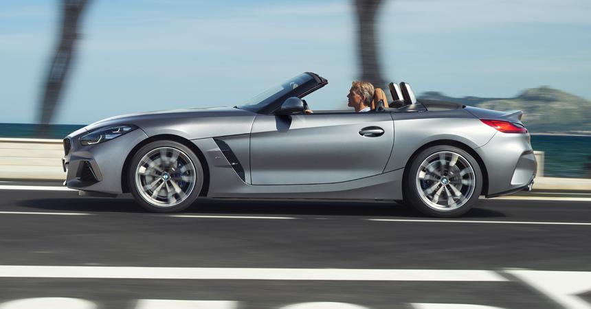 Новый родстер BMW Z4 в России: все цены