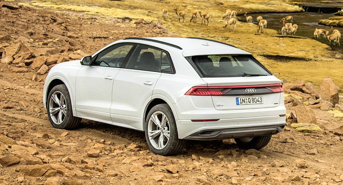 В России будут выпускать кроссоверы Audi Q8