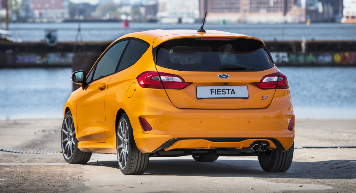Хот-хэтч Ford Fiesta ST обзавелся версией Performance Edition