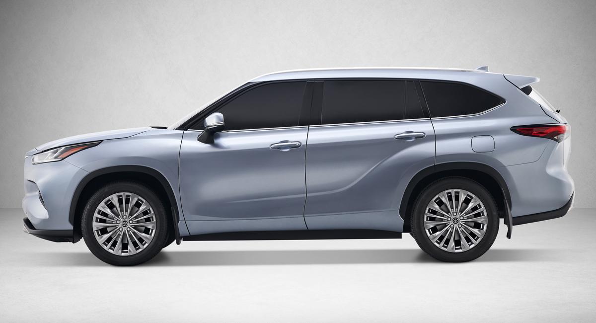 Новый кроссовер Toyota Highlander: теперь восемь мест