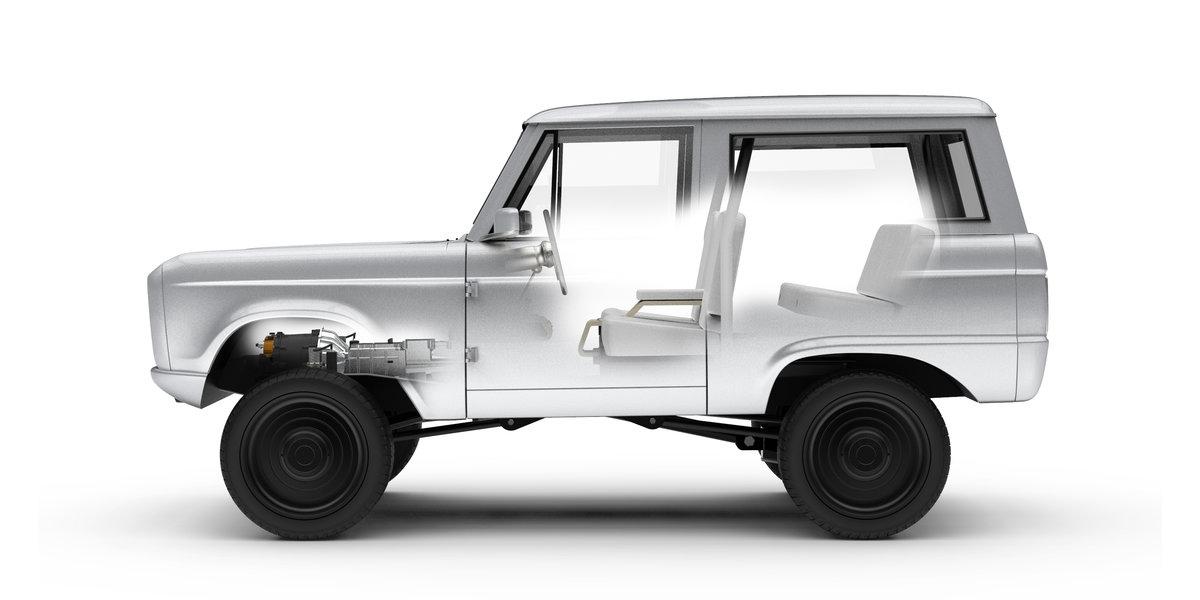 Представлен 1-ый вмире на100% электрический Форд Bronco