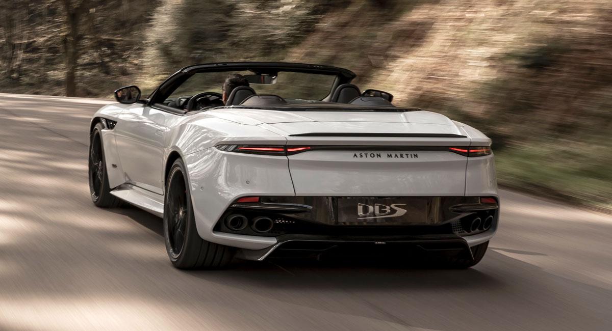 Aston Martin DBS Superleggera Volante: быстрейший кабриолет марки