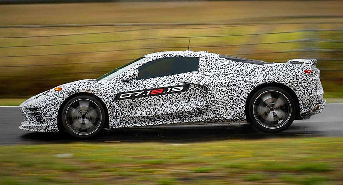 Новый Corvette будут производить в две смены