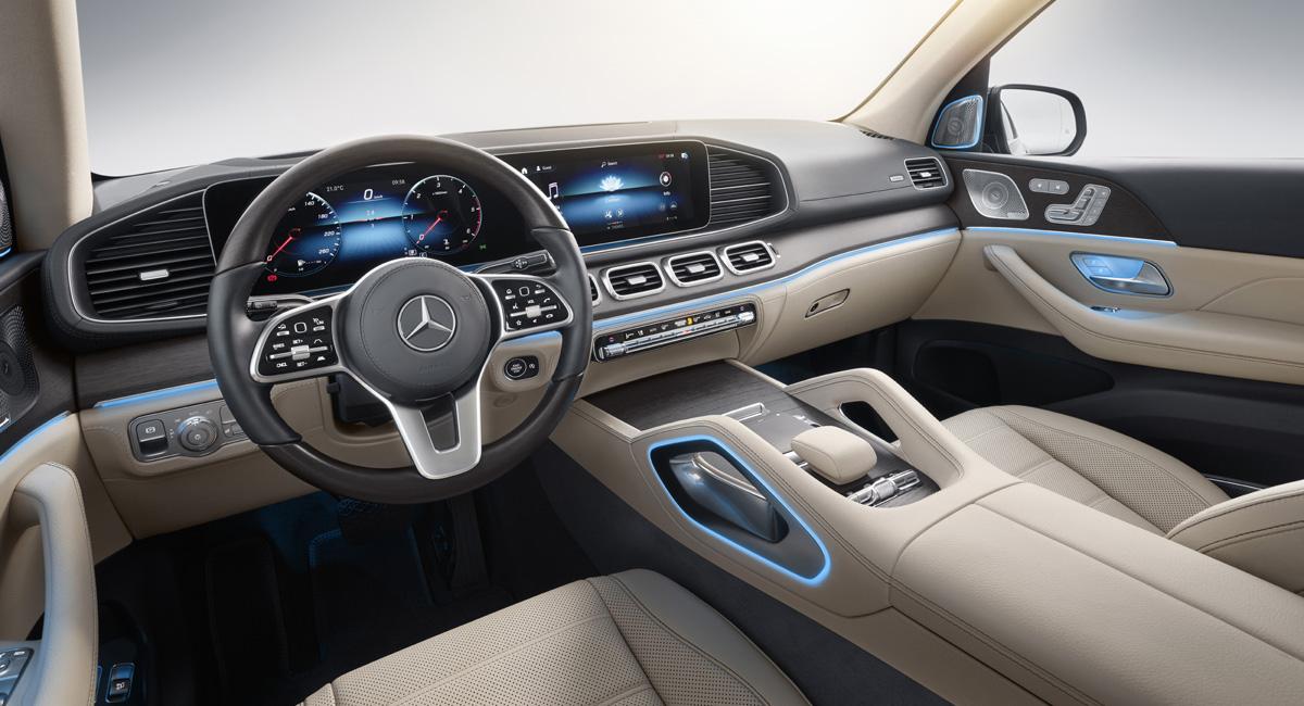 Стали известны версии нового Mercedes GLS для Российской Федерации