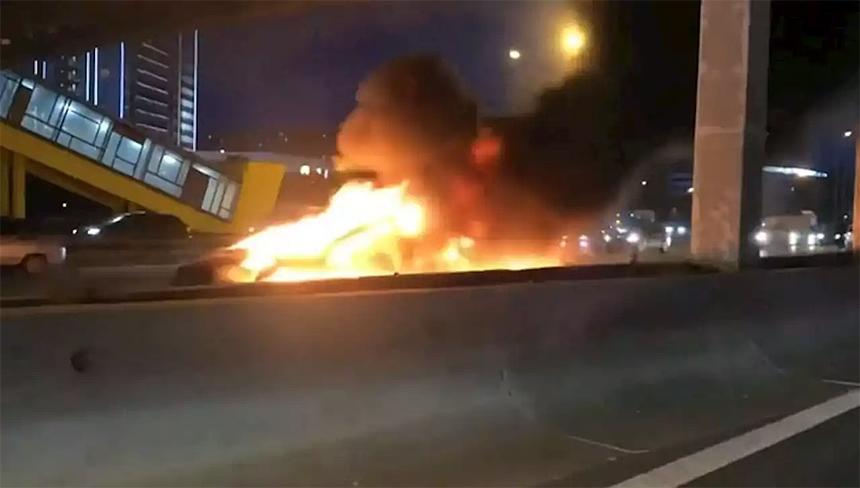 Дайджест дня: футбольный Polo, взрыв Теслы в Москве и другие события автоиндустрии