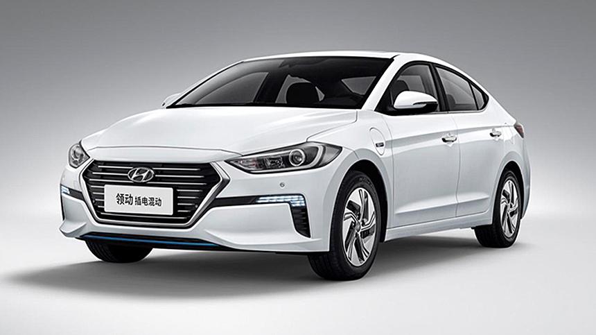Гибрид Hyundai Elantra PHEV — с расходом 1 л/100 км