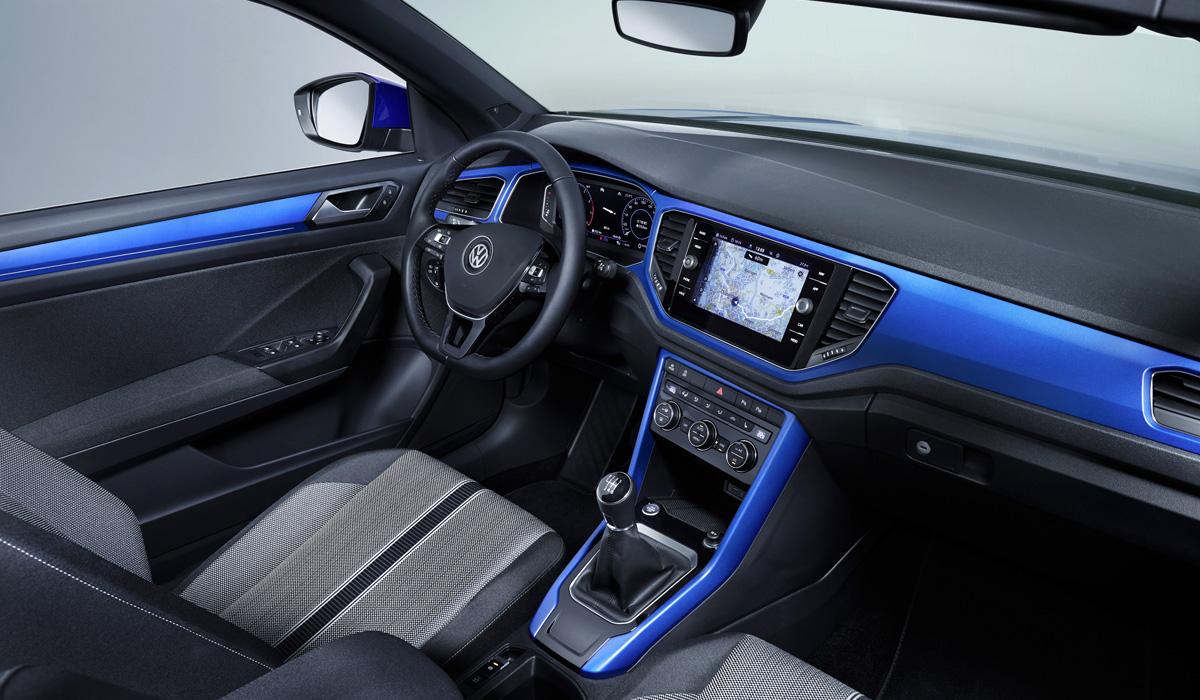 Кроссовер Volkswagen T-Roc: теперь и кабриолет